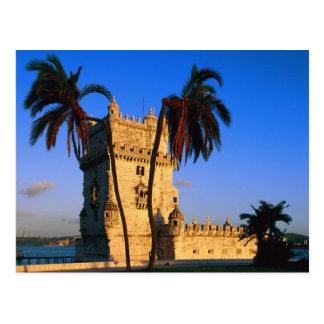 Belem Tower Portugal Postcard