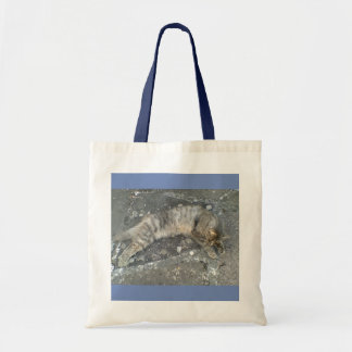 Belenos is stretched out tote bag