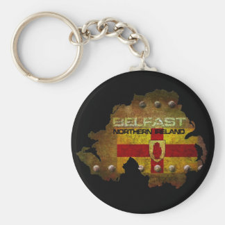 Belfast Northern Ireland Key Ring