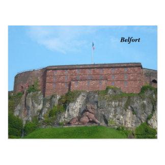 Belfort - postcard