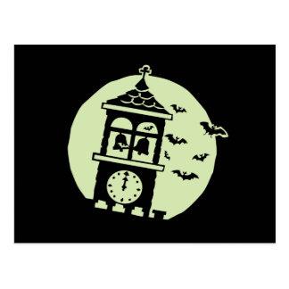Belfry Bats Moon Postcard