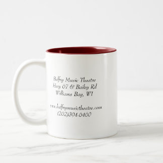 Belfry Music Theatre - Address Mug