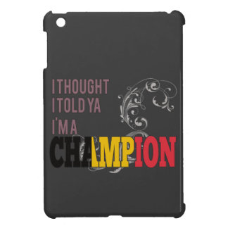 Belgian and a Champion Case For The iPad Mini