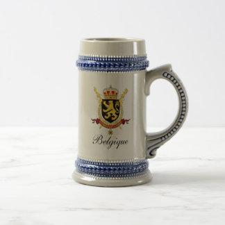 Belgian Beer Stein - Crests