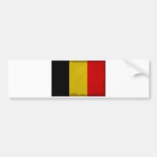 Belgian Belgium flag Bumper Sticker