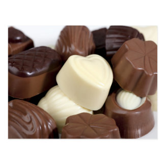 Belgian Chocolates Postcard