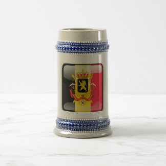 Belgian Coat of arms Beer Stein