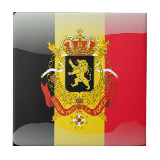Belgian Coat of arms Ceramic Tile