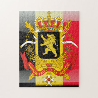 Belgian Coat of arms Jigsaw Puzzle
