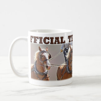 Belgian Draft Horse Official Teamster Mug