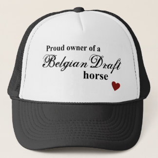 Belgian Draft horse Trucker Hat