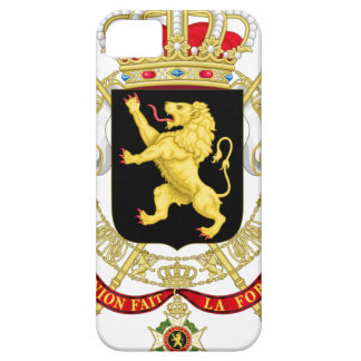 Belgian Emblem - Coat of Arms of Belgium Case For The iPhone 5