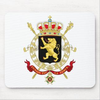 Belgian Emblem - Coat of Arms of Belgium Mouse Pad
