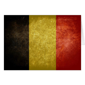 Belgian Flag Cards