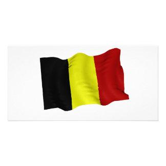 Belgian flag photo cards