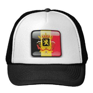 Belgian glossy flag cap