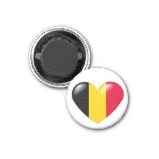 Belgian heart magnet - Coeur belge