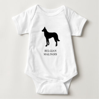 Belgian Malinois Baby Bodysuit