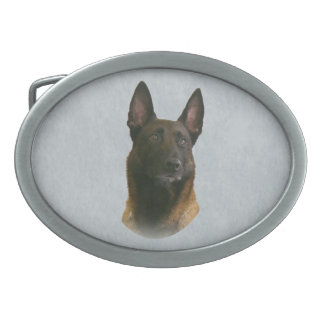 belgian malinois belt buckle
