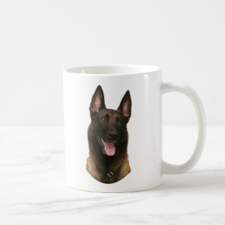 belgian malinois coffee mug