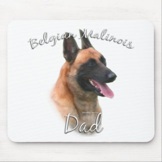 Belgian Malinois Dad 2 Mouse Pads