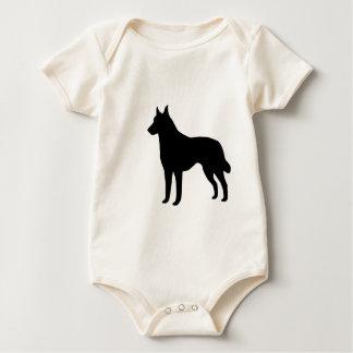 Belgian Malinois  Gear Baby Bodysuit