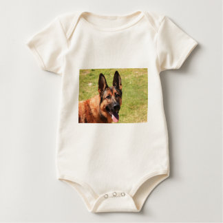 Belgian Malinois German Shepherd Baby Bodysuit