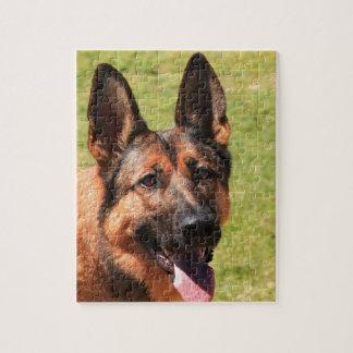 Belgian Malinois German Shepherd Jigsaw Puzzle