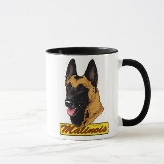 Belgian Malinois Headstudy Mug