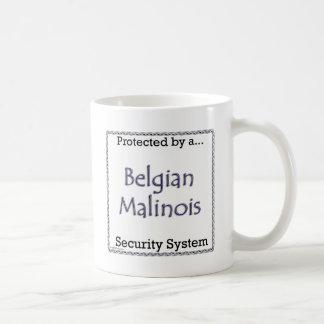 Belgian Malinois Security System Coffee Mug