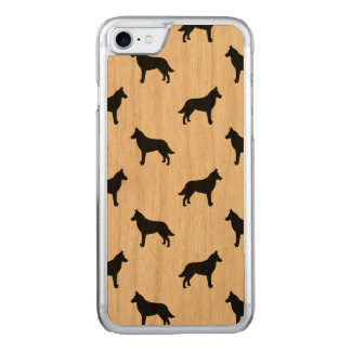 Belgian Malinois Silhouettes Pattern Carved iPhone 8/7 Case