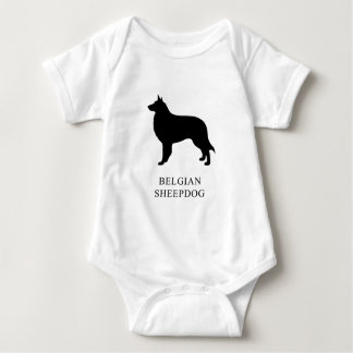 Belgian Sheepdog Baby Bodysuit