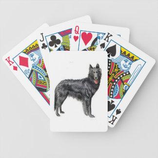 Belgian Sheepdog Dog Playing Cards