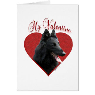 Belgian Sheepdog My Valentine Card