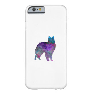 Belgian Shepherd Dog in watercolor Barely There iPhone 6 Case