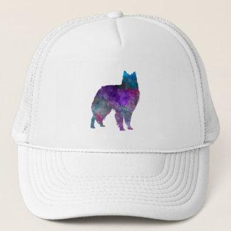Belgian Shepherd Dog in watercolor Trucker Hat