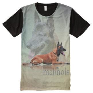 Belgian shepherd - Malinois All-Over Print T-Shirt