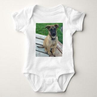 Belgian Shepherd Malinois Dog Baby Bodysuit