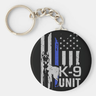 Belgian shepherd - Malinois - K9 Unit Key Ring