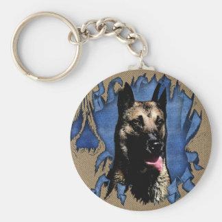Belgian shepherd - Malinois Key Ring
