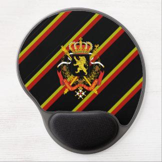 Belgian stripes flag gel mouse pad