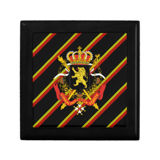 Belgian stripes flag gift box