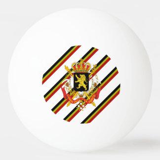 Belgian stripes flag ping pong ball
