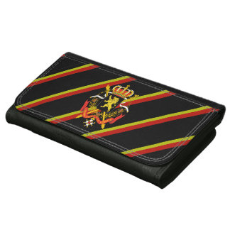 Belgian stripes flag wallet