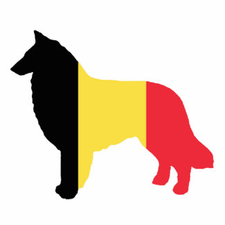 belgian teruvian flag silhouette photo sculpture key ring