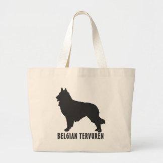 Belgian Tervuren Large Tote Bag
