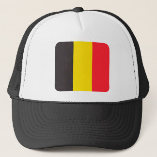 Belgian three colour of Belgium cap