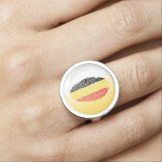 Belgian touch fingerprint flag