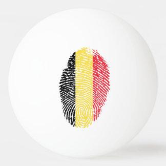 Belgian touch fingerprint flag ping pong ball