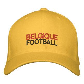 BELGIQUE FOOTBALL EMBROIDERED HAT